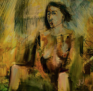 Seated Nude - 21July2017 by Jim Vance