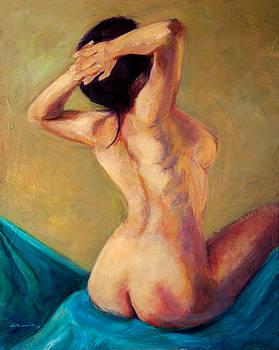 Seated Nude by Jason Reinhardt