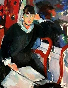 Wouters Rik - Seated Woman 1915