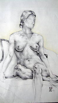 Seated Woman by Neil Grotzinger
