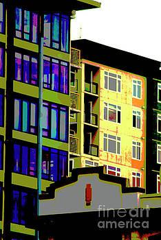 Seattle Architecture by Yulia Kazansky