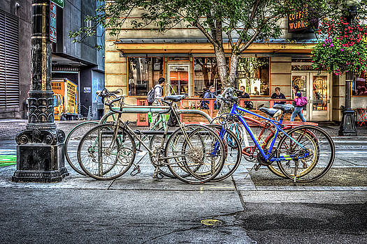 Seattle Bicycles by Spencer McDonald