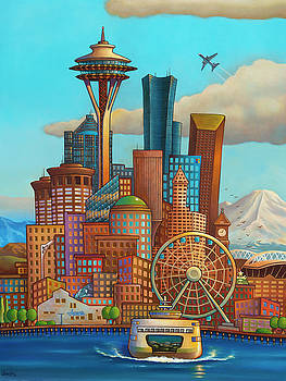Seattle by Bryan Ubaghs