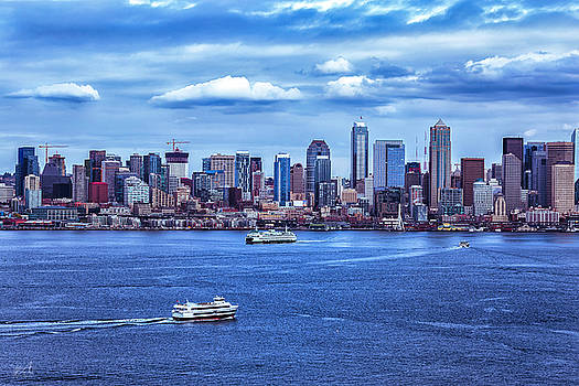 Seattle By Day by Thomas Ashcraft