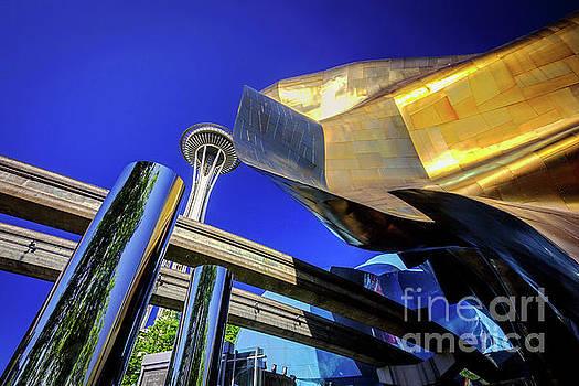 Seattle Center Art by Joan McCool