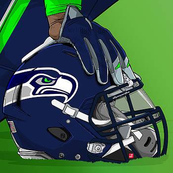Seattle football by Akyanyme