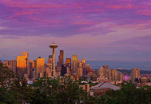 Seattle from Kerry Park by Matt Shiffler