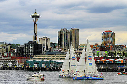 Seattle Harbor View by Juli Ellen