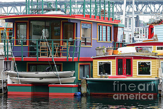Seattle Houseboats by Jerry Fornarotto