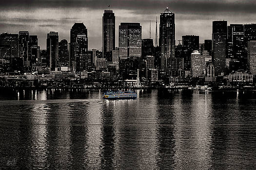 Seattle in Black and White by Thomas Ashcraft