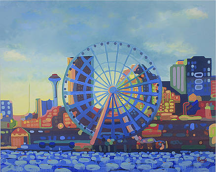 Seattle in Color  by Tracy Dupuis Roland