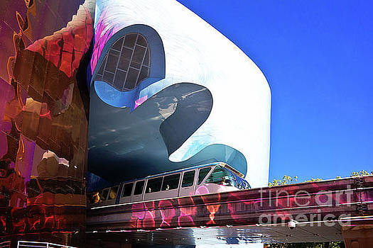 Seattle Monorail  by Joan McCool