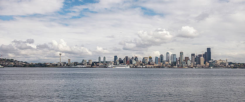 Seattle Skyline 1 by Lindy Grasser