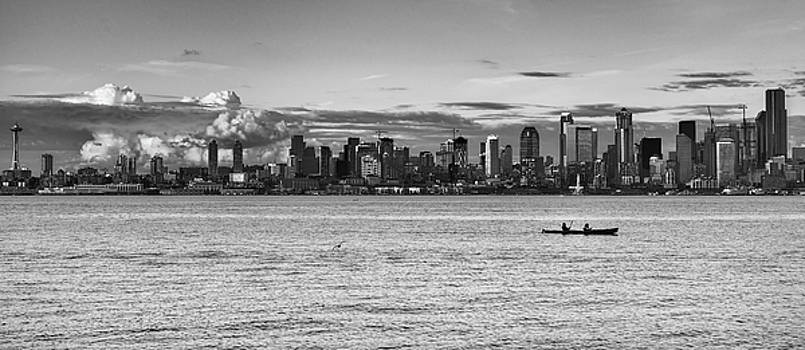 Seattle Skyline 3 by Lindy Grasser