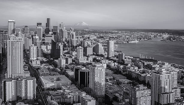 Seattle Skyline by Chad Tracy