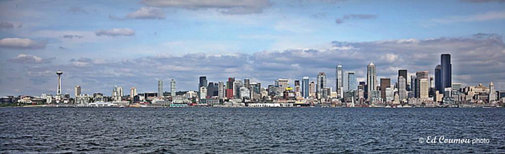 Seattle Skyline by Edward Coumou