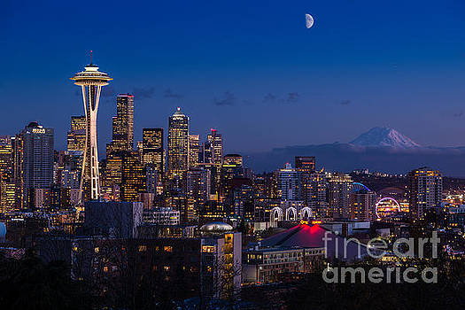 Jamie Pham - Seattle Skyline