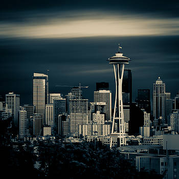 Seattle Skyline by Rod Sterling