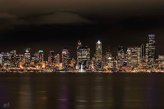 Seattle Skyline by Thomas Ashcraft