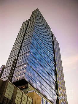 Seattle Skyscraper Sepia Tone by Blake Webster