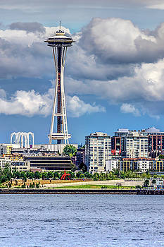 Seattle Space Needle HDR by Rob Green