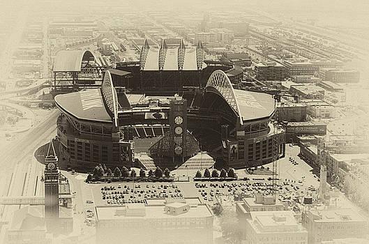 Pelo Blanco Photo - Seattle Stadiums Old Yellow