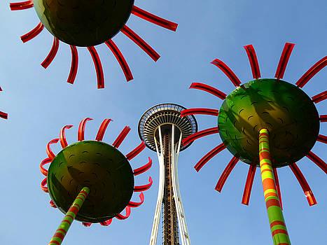 Art America Gallery Peter Potter - Seattle Sun Flowers