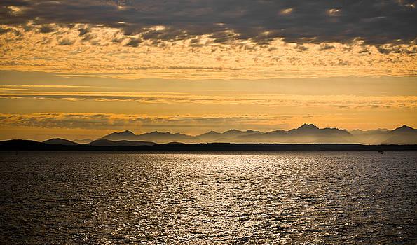 Seattle Sunset by Mandy Wiltse