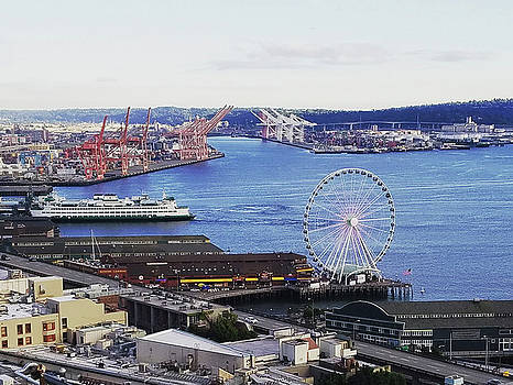 Seattle Waterfront by Michael Merry