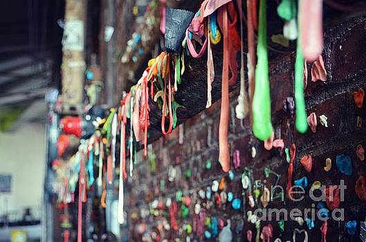 Seattle's Gum Wall by Kiana Carr