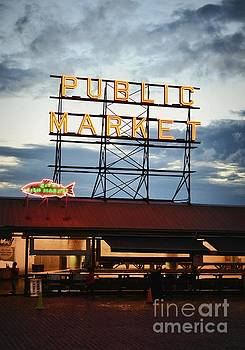 Seattle's Pike Place by Kiana Carr