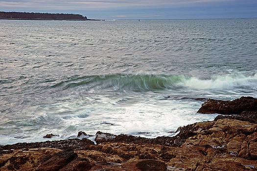 Seawall Surf by Bill Morgenstern