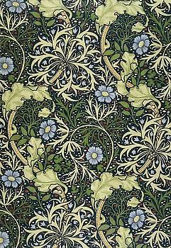 Seaweed by William Morris