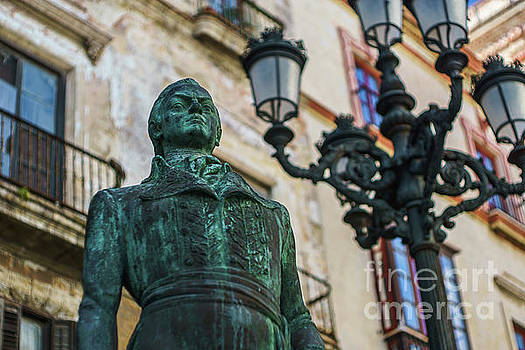 Sebastian Francisco de Miranda y Rodriguez de Espinoza Cadiz Spain by Pablo Avanzini