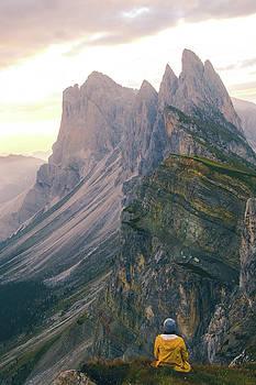Seceda Sunrise by Aaron Hagen