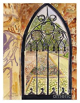Secluded Garden by Godwin Cassar