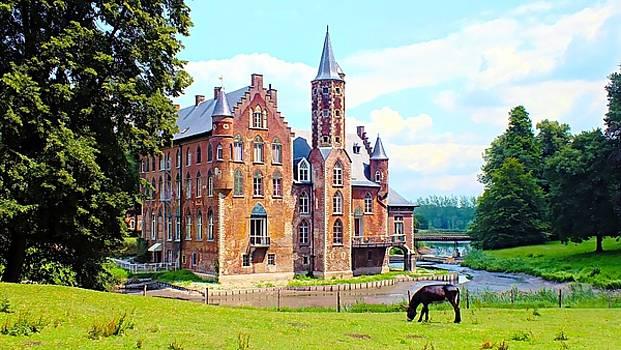 Secluded Wissekerke Castle - Bazel, Belgium by Joseph Hendrix