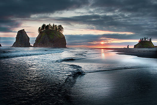 Second Beach #1 by David Chasey