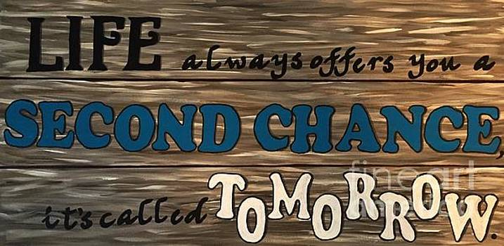 Second Chance Quote by Barbara Griffin
