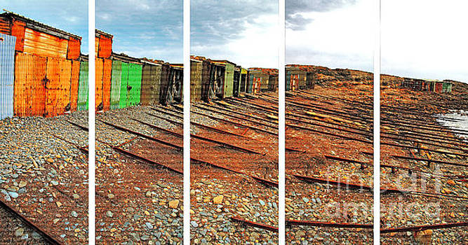 Stephen Mitchell - Second Valley Boat Sheds