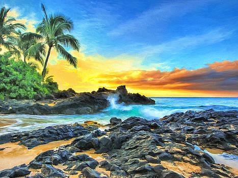 Dominic Piperata - Secret Cove Sunrise Maui