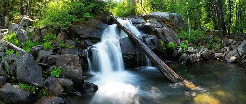 Secret Falls by Brad Scott by Brad Scott