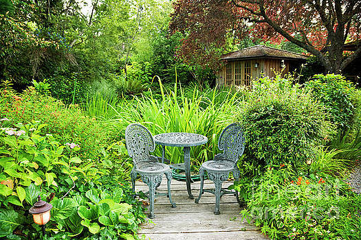 Secret Garden Retreat by Maria Janicki