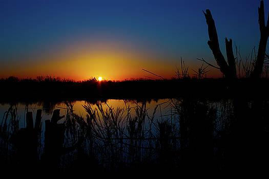 Secret Sunset by Mark Andrew Thomas