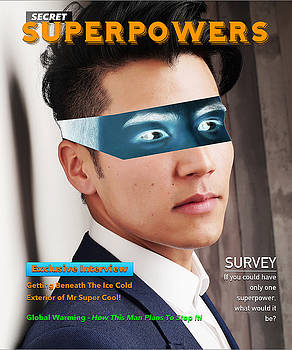 Secret Superpowers Magazine by ISAW Gallery