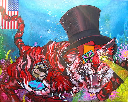 Secret Tigers by Jacob Wayne Bryner
