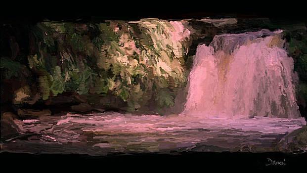Secret Waterfall by Deborah Rosier