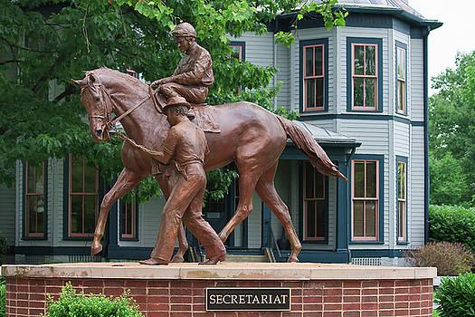 Jill Lang - Secretariat Statue