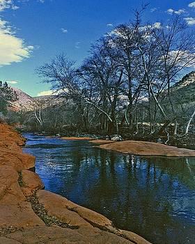 Gary Wonning - Sedona Arizona Tranquil Pool