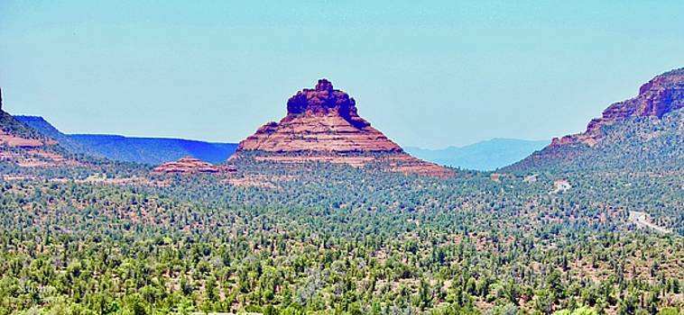 Sedona Bell Rock by Lorna Maza